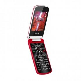 "TELEFONO MOVIL EPIC ROJO 2.8"" DUAL SIM BT CAMARA SPC"