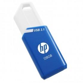 PENDRIVE 128GB USB 3.1 X755W AZUL BLANCO HP