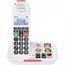 TELEFONO SENIOR INALAMBRICO XTRA 2155 BLANCO SWISSVOICE