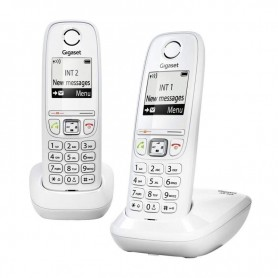 TELEFONO INALAMBRICO DECT DIGITAL AS405 DUO BLANCO GIGASET
