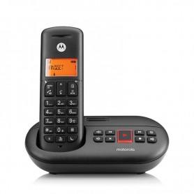 TELÉFONO INALAMBRICO DECT DIGITAL E211 NEGRO MOTOROLA