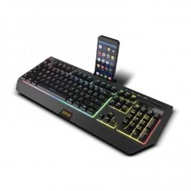 TECLADO GAMING KUMA SEMI MECANICO RGB USB KROM