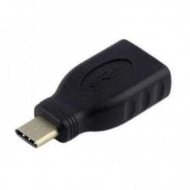 ADAPTADOR USB TIPO C A108-0323 USB 3.1  NEGRO AISENS
