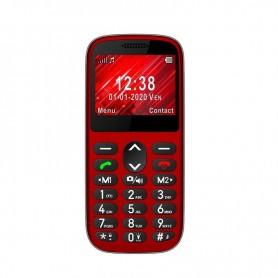 TELEFONO S420 PERSONAS MAYORES ROJO TELEFUNKEN