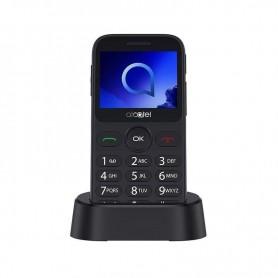 TELEFONO MOVIL 20.19G TECLAS GRANDES BT  CAMARA SOS SILVER ALCATEL
