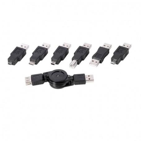 ADAPTADOR 7X USB MACHO VIVANCO