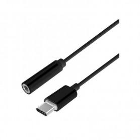 ADAPTADOR USB MACHO JACK 3.5 HEMBRA AISENS