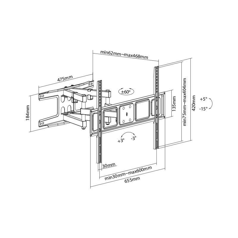 ESLINGA 5CM X 6 MTS 650 KGS PAMACON - PM1247_01