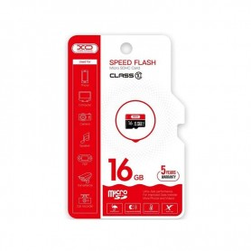 TARJETA MICROSD 16 GB HIGH LEVEL TF HIGH SPEED  XO