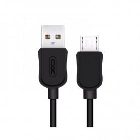 CABLE MICRO USB A USB NEGRO XO