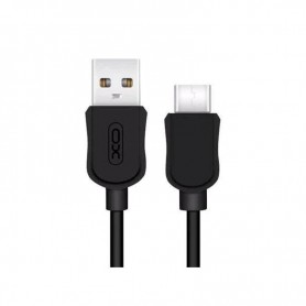 CABLE TIPO C A USB NEGRO XO