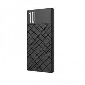 POWERBANK 10000MAH  USB + TIPO C QC 3.0 NEGRA XO
