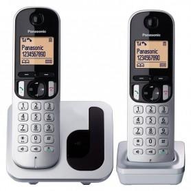 TELÉFONO INALÁMBRICO DECT KX-TGC212PL PACK DÚO IDENTIFICACIÓN PANASONIC