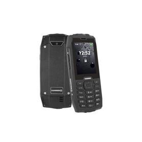 "TELEFONO MOVIL RUGGERIZADO 4 2.8"" 2G DUAL-SIM NEGRO HAMMER"
