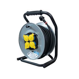 ENROLLADOR DE CABLE 25 MTS 3X2.5mm VOLTEN