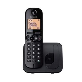 TELÉFONO INALÁMBRICO DECT KXTGC210SPB NEGRO PANASONIC