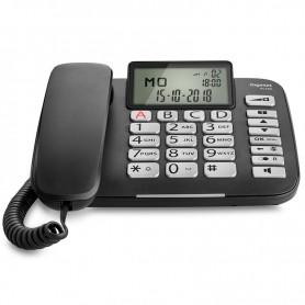 TELEFONO FIJO DL580 NEGRO GIGASET