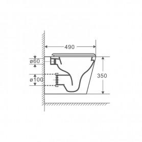 HORNO DE GAS + COCINA 2 FUEGOS AIRMEC - AM120485