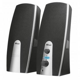SET DE ALTAVOCES MILA - (2.0, 10 W, ALIMENTADOS POR USB), NEGRO TRUST