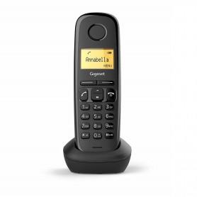 "TELÉFONO DECT A170 NEGRO | LCD 1.5"" | FUNCION ALARMA GIGASET"