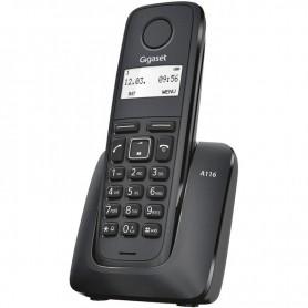 TELEFONO INALAMBRICO DECT DIGITAL A116 NEGRO GIGASET
