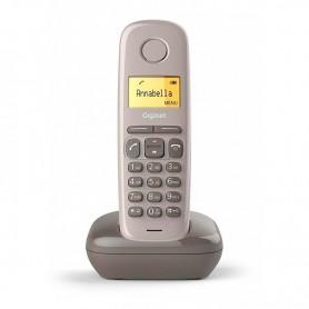 """TELÉFONO DECT A170 MARRON LCD 1.5"""" FUNCION GIGASET"""