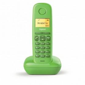 "TELÉFONO DECT A170 VERDE | LCD 1.5"" | FUNCION ALARMA  GIGASET"