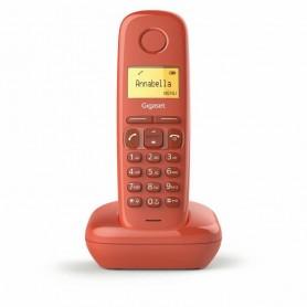 "TELÉFONO DECT A170 ROJO | LCD 1.5"" | FUNCION ALARMA GIGASET"