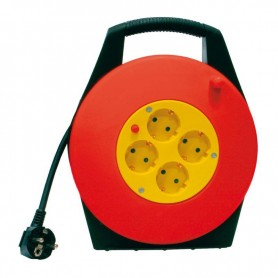 ENROLLADOR DE CABLE 10 MTS 3X1.5mm VOLTEN