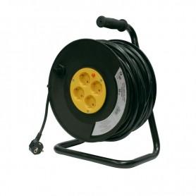 ENROLLADOR DE CABLE 25 MTS 3X1.5mm VOLTEN
