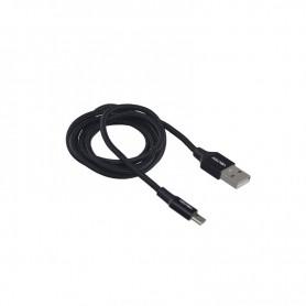 CABLE USB A MICRO USB NEGRO 1 METRO VOLTEN