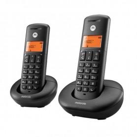 TELEFONO INALAMBRICO DECT E202 DUO NEGRO MOTOROLA