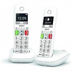 TELEFONO INALAMBRICO E290 DUO TECLAS GRANDES GIGASET