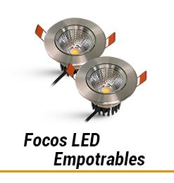 Led Focos LED Empotrables